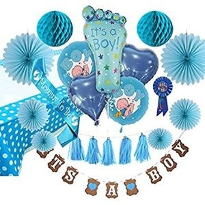 Other - Baby Shower Decorations for Boy